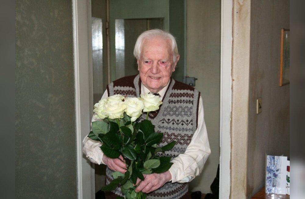Tallinna vanim mees sai 103-aastaseks