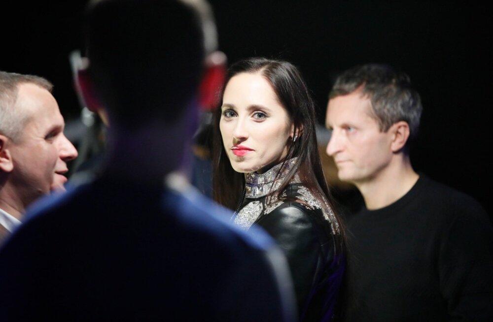 """FOTOD   Eksklusiivse lavastuse """"Dinnervision"""" erilinastus tõi kohale Eesti Eurovisioni staaride koorekihi"""