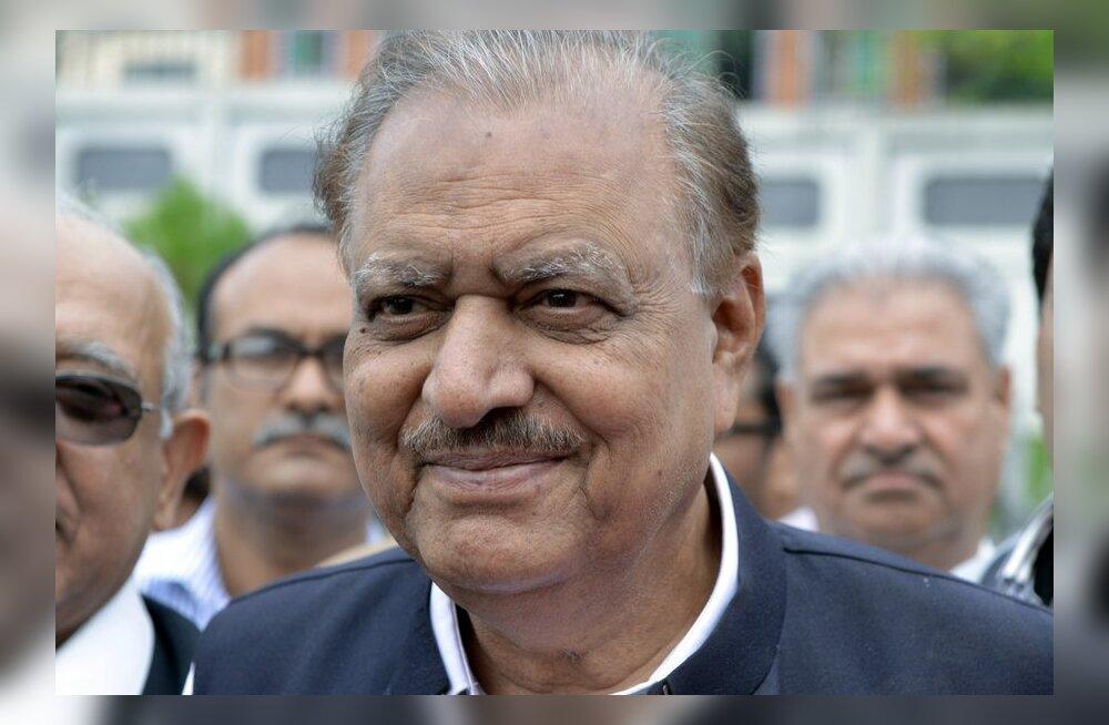 Pakistani uueks presidendiks valiti Mamnoon Hussain