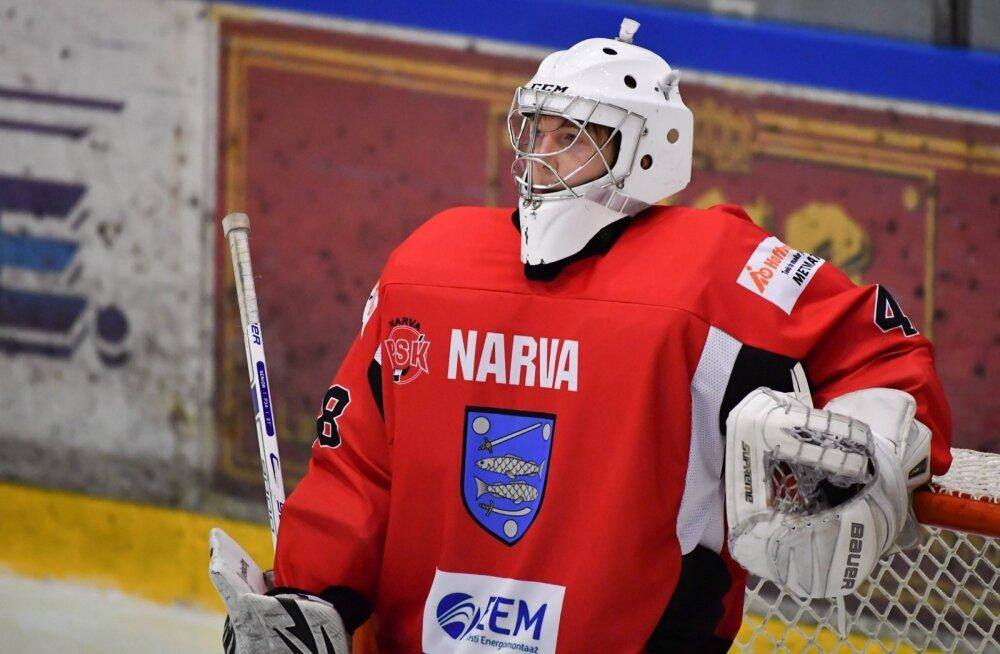 Jäähokki Narva PSK vs Kalev Välk 30.09.2017