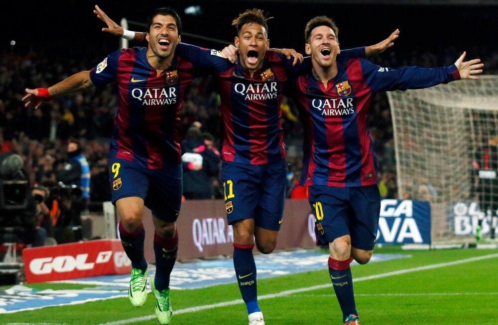 Luis Suarez, Lionel Messi, Neymar, Barcelona, FC Barcelona