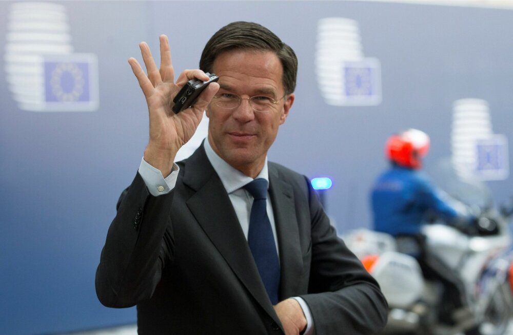 Hollandi peaminister Mark Rutte