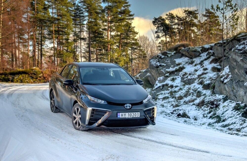 Toyota Mirai Skandinaavia taliteel