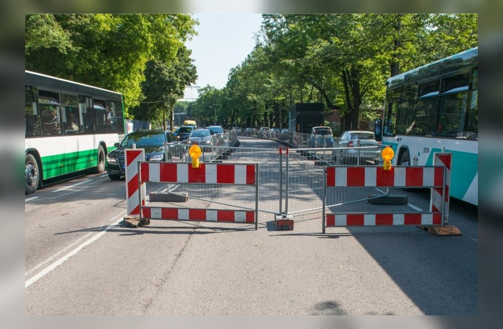 Liikluskorralduse muudatus Narva mnt