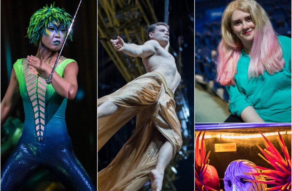ФОТОРЕПОРТАЖ DELFI: Сказка наяву или бесконечный труд? Что скрывает закулисье Cirque du Soleil