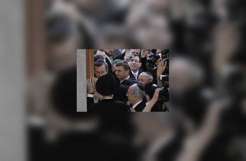 Sünagoogi avamine Tallinnas