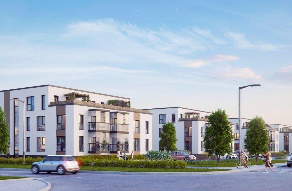 Начинается последний этап строительства таллиннского жилого района Пярнаыуэ