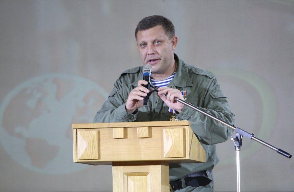 Donetski rahvavabariigi juht kuulutas välja uue riigi, Väike-Vene asutamise Ukraina asemele