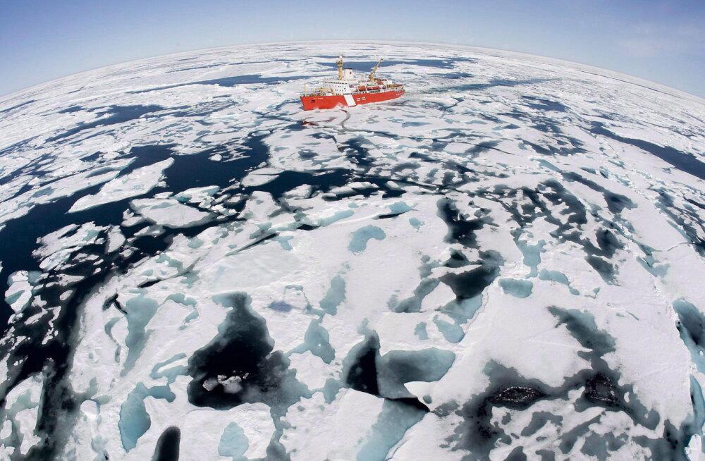Arktika sulamine paljastas maapinna, mis on jää all olnud üle 40 000 aasta
