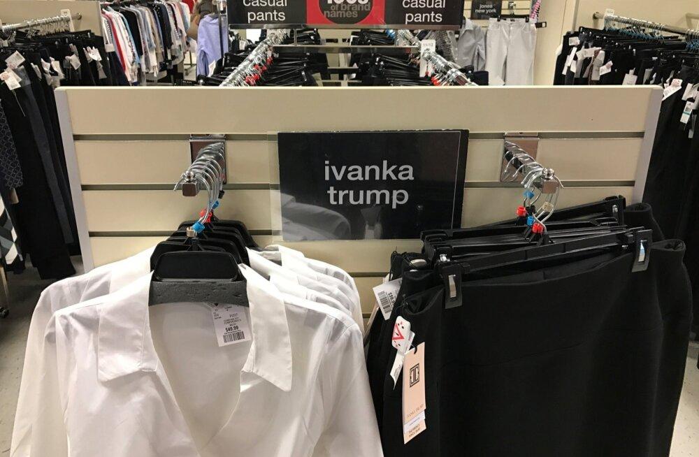 Trump ründas tütre Ivanka tooted müügilt võtnud kaubandusketti