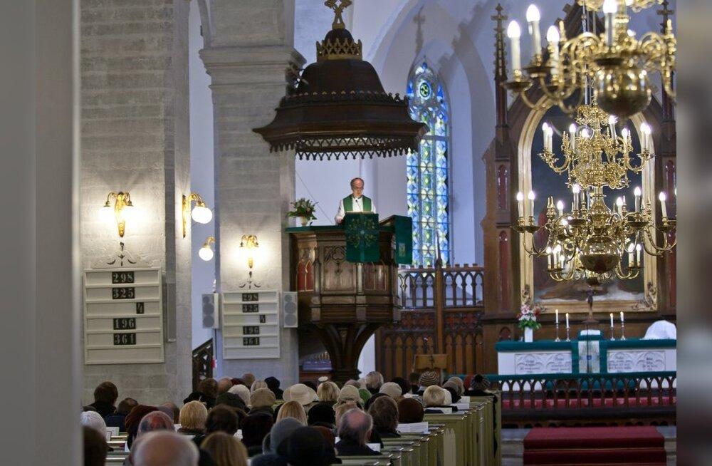 Väliseesti ja kodueesti luterlik kirik ühinevad