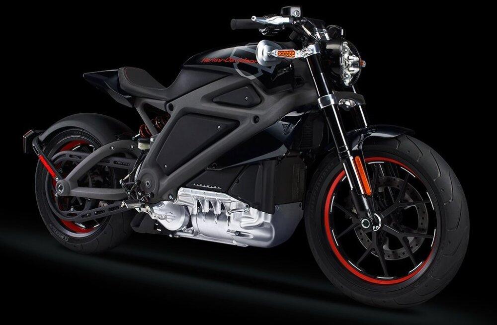 Üllatus missugune! Harley-Davidson hakkab elektrimootorrattaid tootma