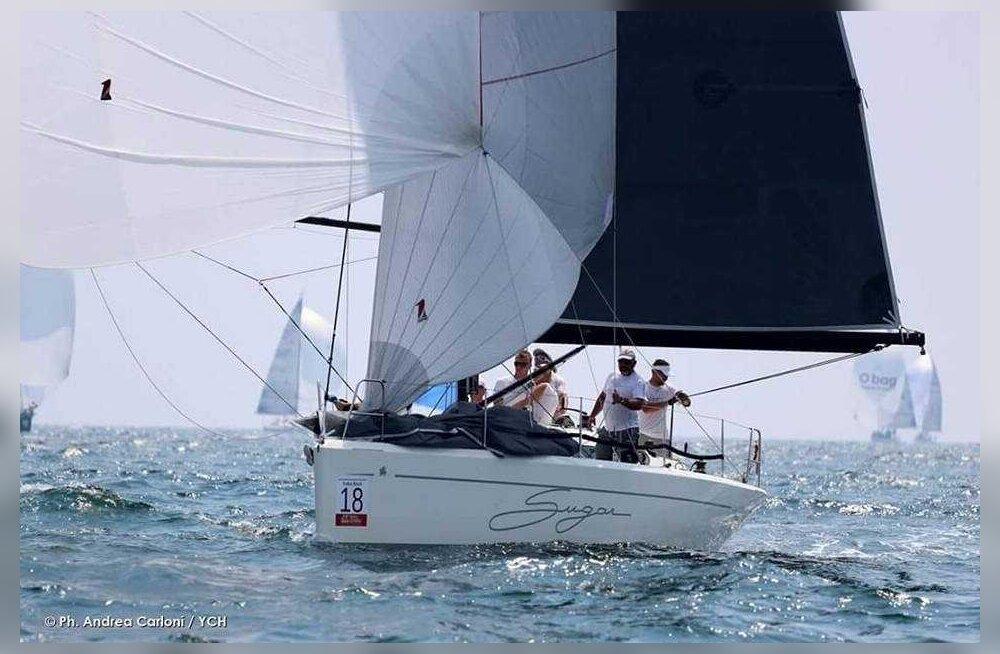 Eesti purjetajad võitsid Itaalia Meistrivõistlustel hõbeda