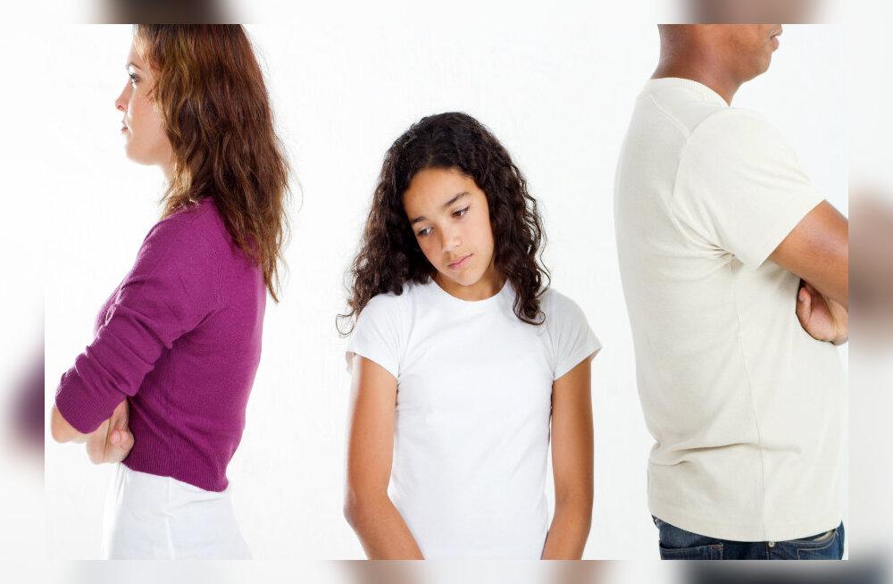 Eluterve kärgpere: mida teha kui laps ei taha teise vanema juurde minna?