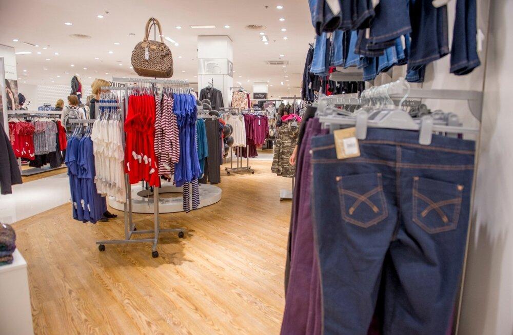 EL-i hinnatasemega võrreldes on Eestis riided väga kallid, koguni 15% keskmisest kallimad.
