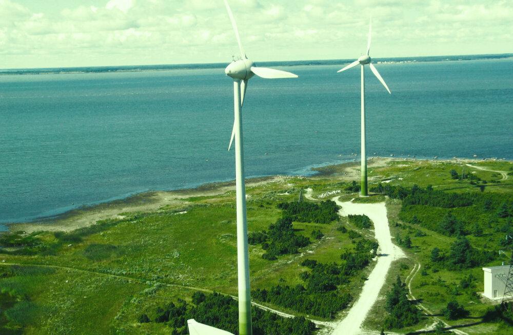 Ветропарки Enefit Green за 11 месяцев произвели на 18% больше электроэнергии, чем годом ранее