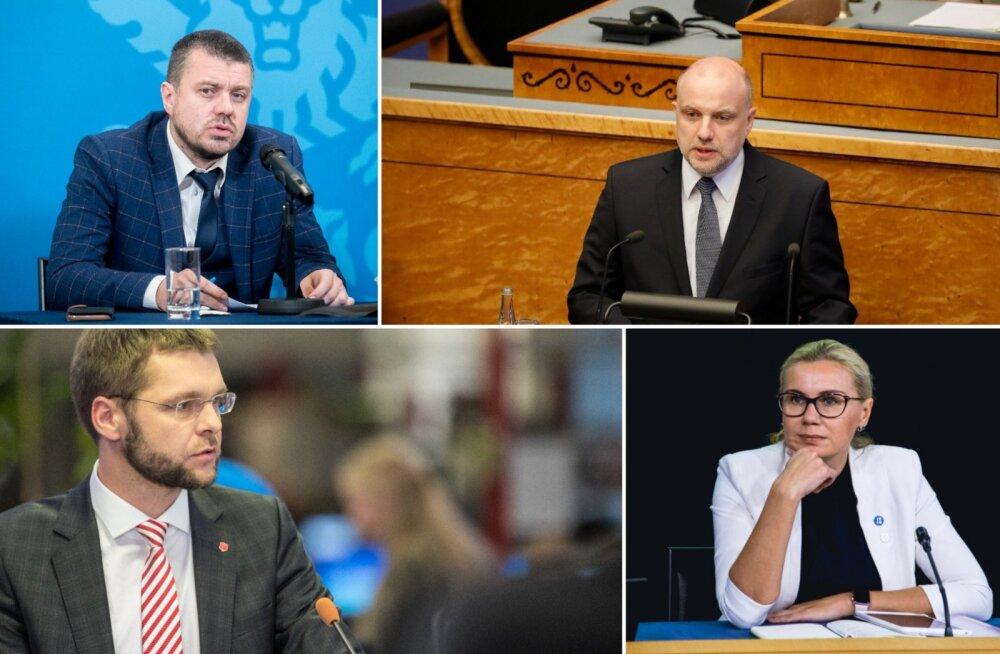 Jõulude puhul läksid puhkusele neli ministrit, kõige pikema reisi võttis ette Jevgeni Ossinovski