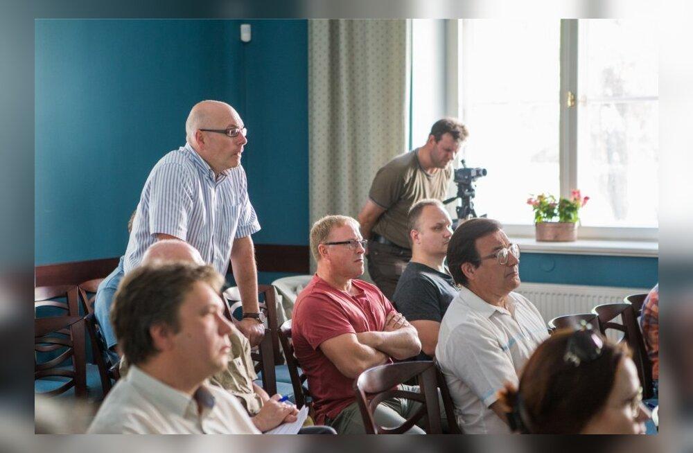 Rail Balticu trassialternatiivide pressikonverents
