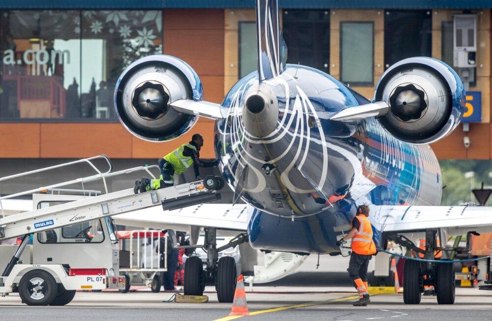 Lennukid lennujaamas