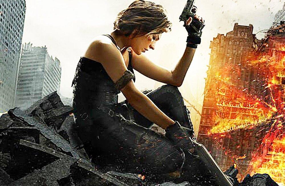 """""""Resident Evili"""" filmid lähenevad tohutule kassarekordile"""