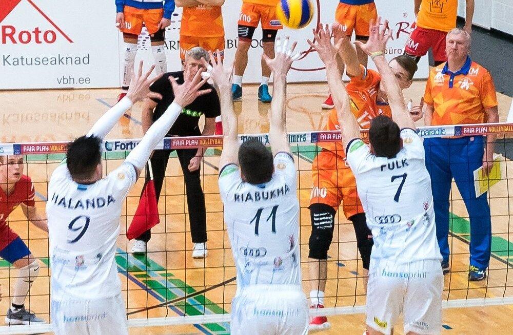 Saaremaa võitis liidrite kohtumises Pärnut 3.1