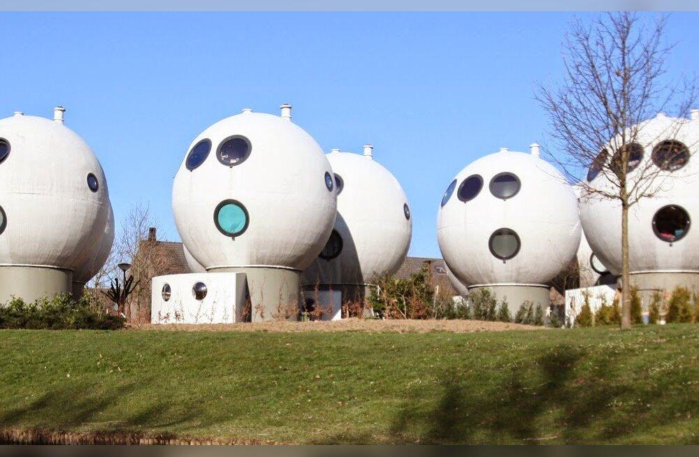 Жизнь в шарике: уникальные дома-шары в Нидерландах