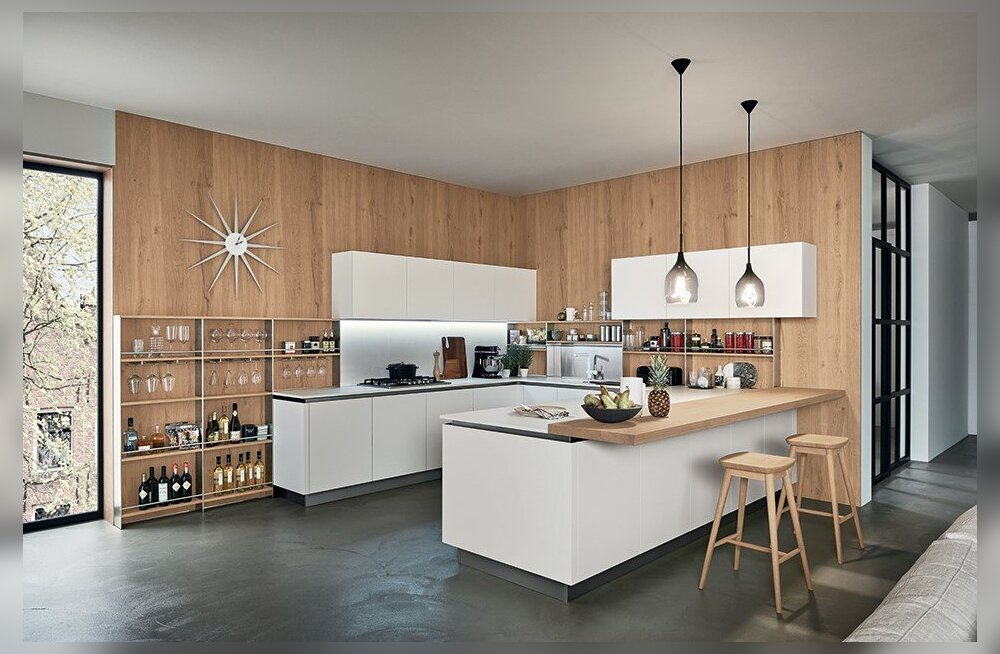 Открытые и закрытые полки на кухне. Тайное против явного
