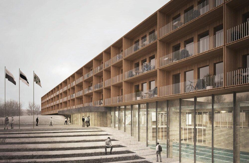 ФОТО: Строительство Академии МВД в Нарве будет стоить 20,1 млн евро и начнется зимой