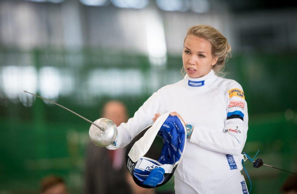 Erika Kirpu krooniti Eesti karikavõitjaks.