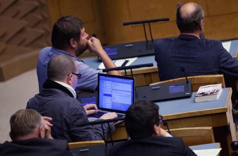 Eelarve eelnõu üleandmine