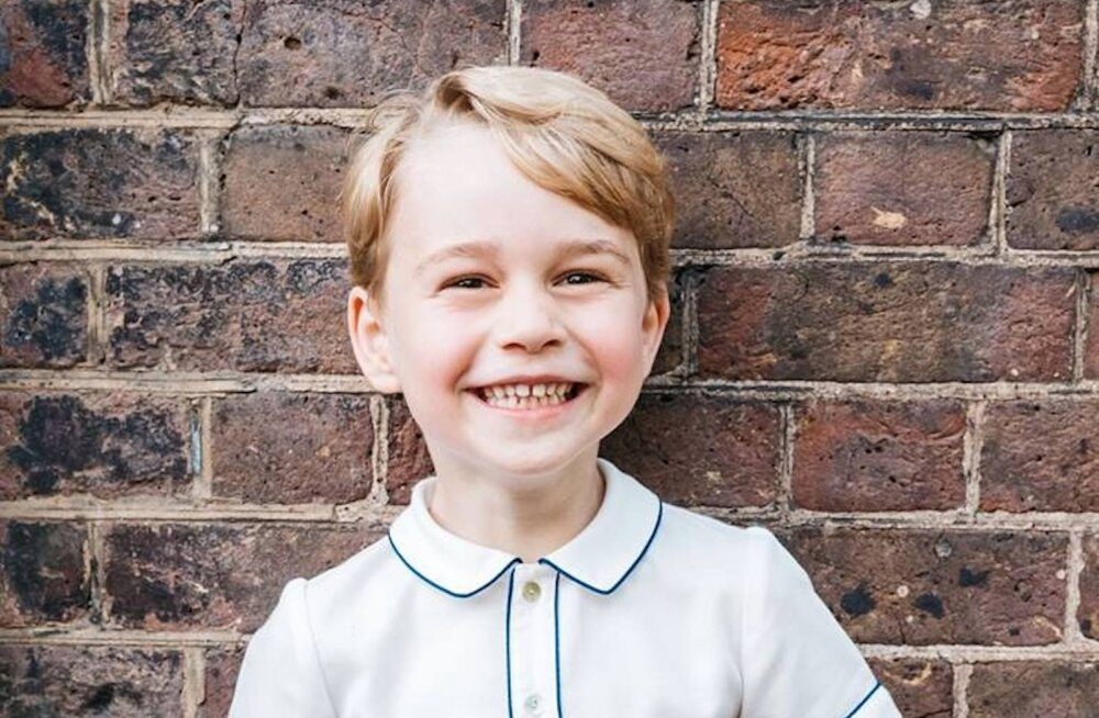 5-aastane prints George on isa Williamilt võtnud üle kombe, mis printsess Diana kirjelduse kohaselt on suisa kohutav!