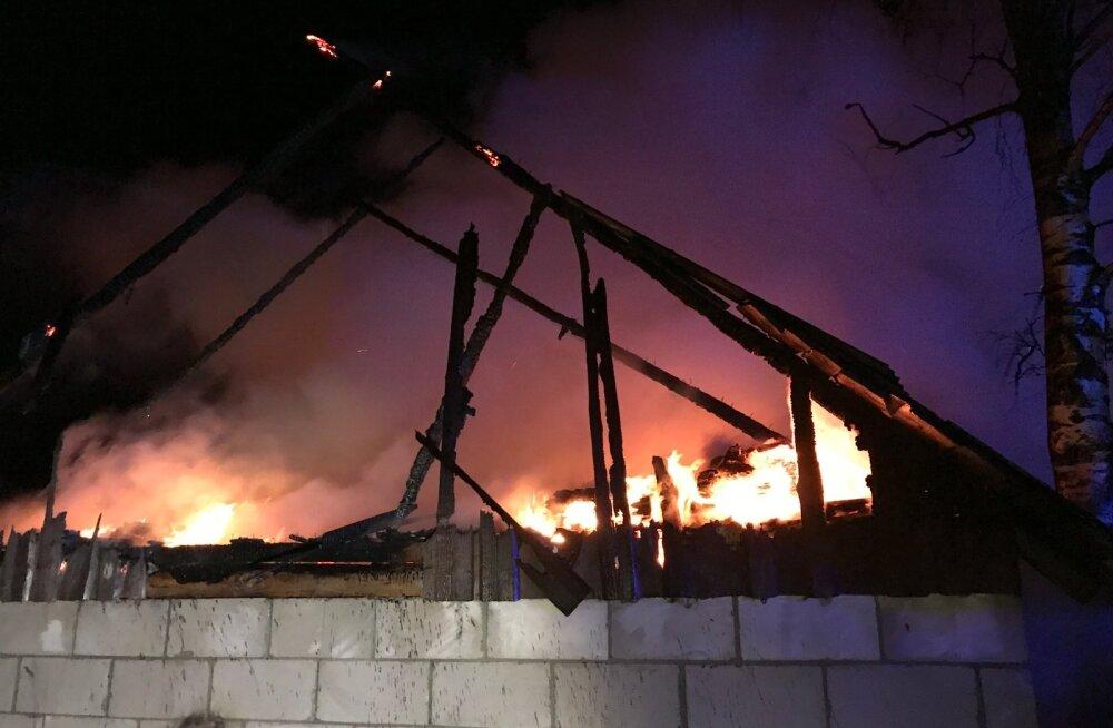 Järvamaal põles elumaja