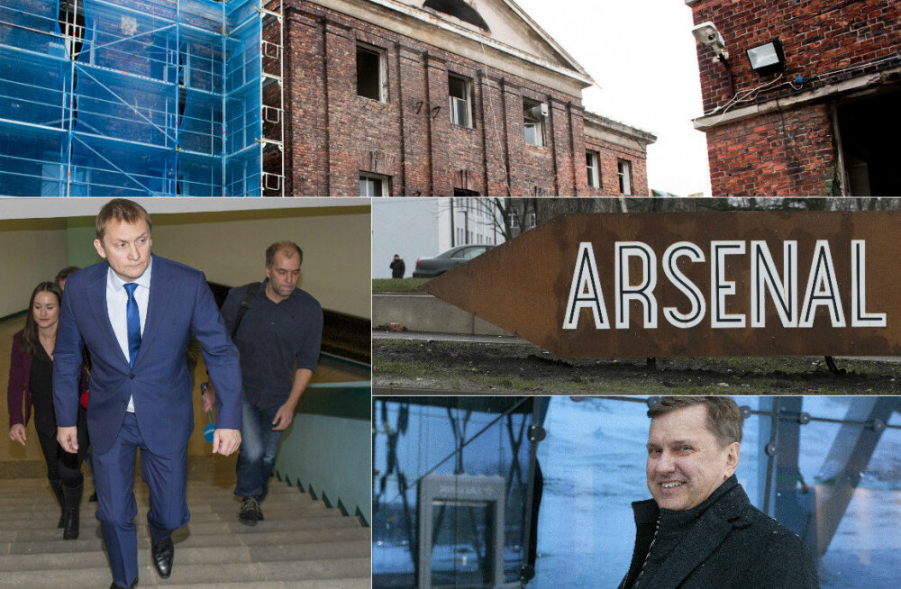 Riigifirma keeldus Arsenali kinnistuid buumi tippajal müümast, kaotades üle 3,5 miljoni euro
