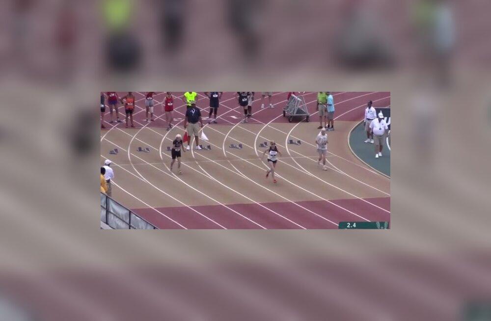 VIDEO | 101-aastane vanaproua jooksis 100 meetri sprindis võimsa maailmarekordi
