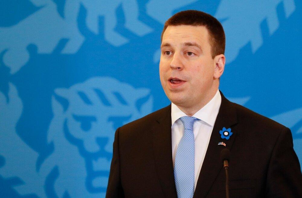 Peaminister Ratas teab, et USA on pühendunud Eesti kaitsmisele, ja lubas Soomele vajadusel abi