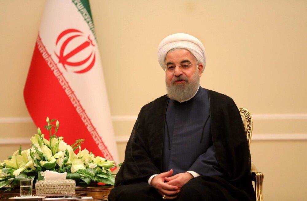 Iraani president Saudi Araabiale: teist palju võimsamad pole suutnud meie vastu midagi teha