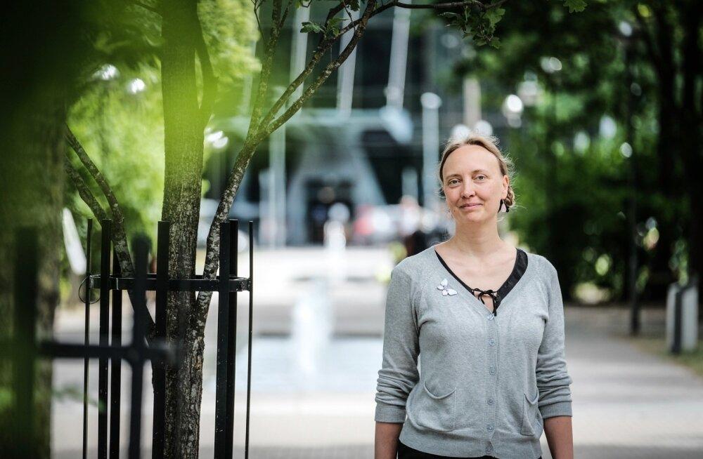Ann Ojala ütleb, et rohealad peaksid paiknema elukohale lähedal – umbes 300 meetri kaugusel.