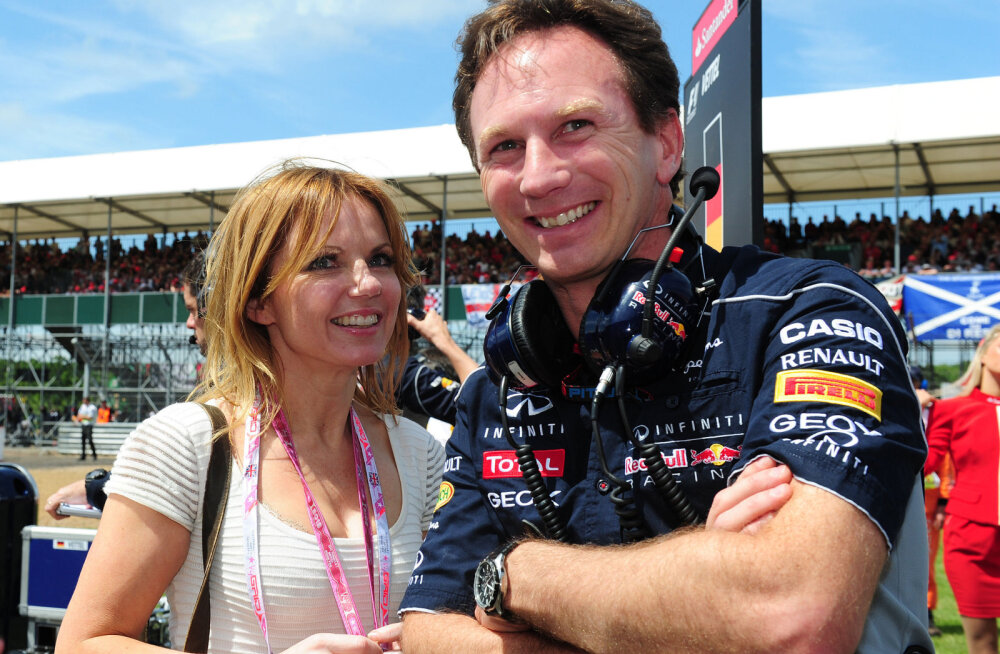 Christian Horner oma naise Geri Halliwelliga