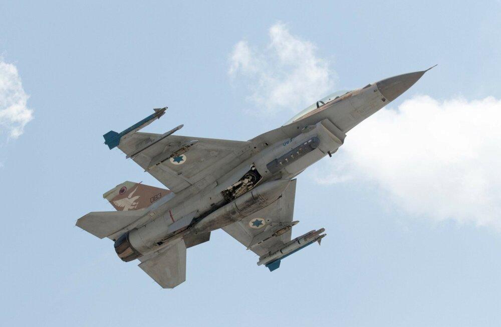 Iisrael andis õhulööke Süürias, kust vastati õhutõrjerakettidega