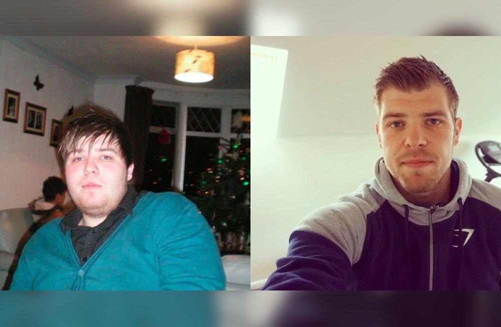 ENNE ja PÄRAST: ülekaaluline karastusjoogisõltlane võttis end kokku ja tulemus on märkimisväärne
