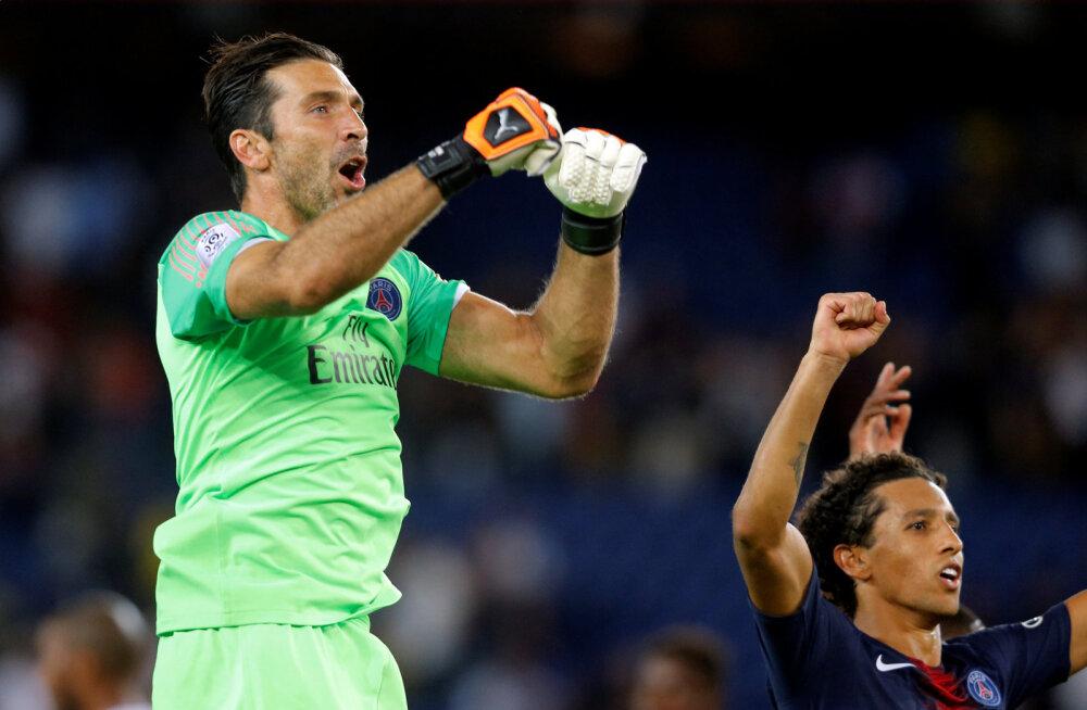 PSG alustas uut Prantsusmaa liiga hooaega võidukalt, Buffon tegi debüüdil nullimängu