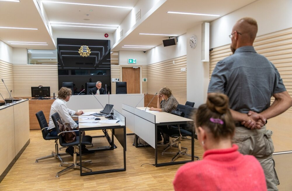 Harju maakohtu esimene istung uues Tallinna kohtumajas