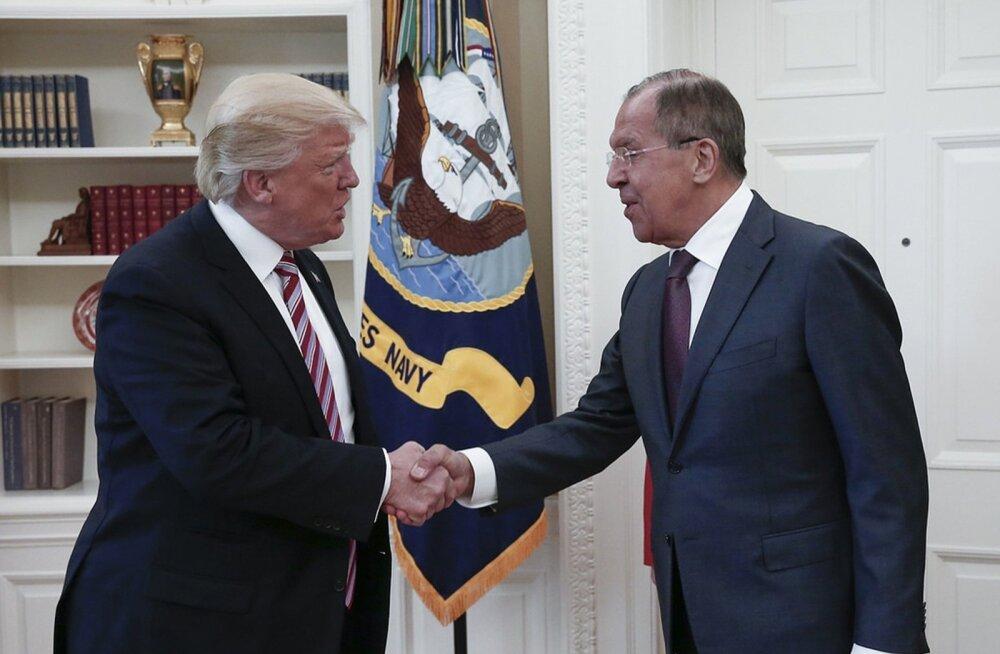 Donald Trump, Sergei Lavrov