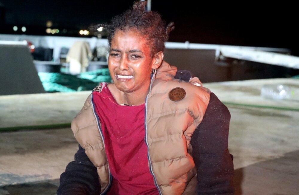 Itaalia sõidutas merelt päästetud migrandid otse Liibüasse tagasi