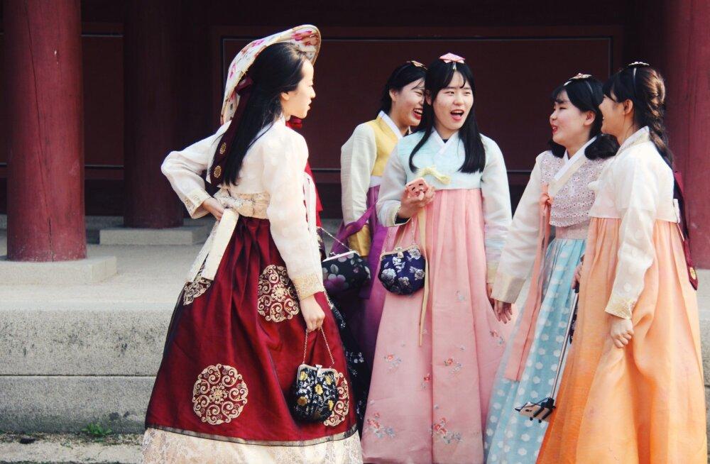 Korea naiste ilunipid vallutavad maailma! Miks see nii on ja kuidas sealsed naised alati nii klaari nahaga on?