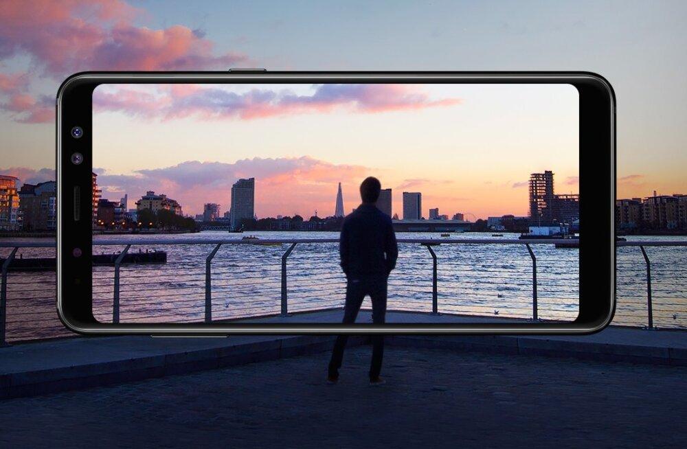 Samsung lubab järgmist tipptelefoni veebruari lõpuks, A8 eeltellija saab VR-peakomplekti tasuta