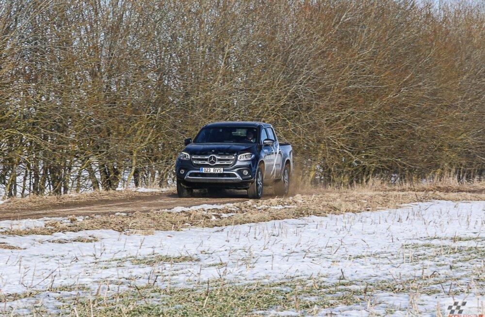 Mercedes-Benz X-klass: noobelkastikas püüab maasturilaadsete ülemvõimu murda