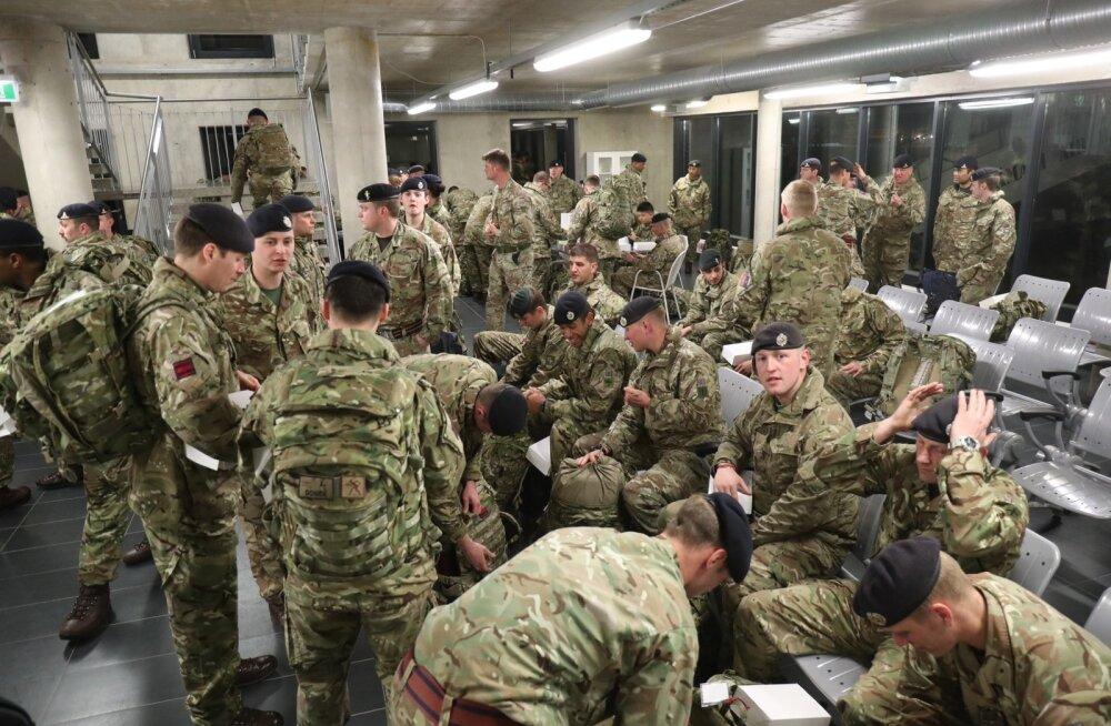 Eestisse saabunud Briti seersant: meid on venelaste salataktika kohta surmani instrueeritud