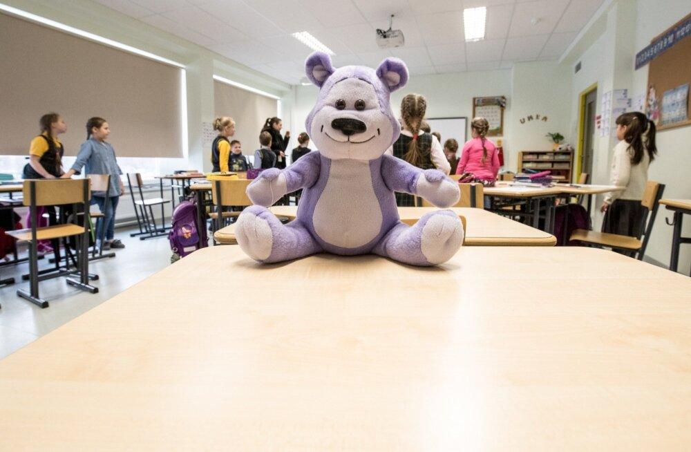Lastekaitse liidu projekti sümbol Sõber Karu pärineb Austraaliast, kus lasteaedades ja algklassides on sarnast tööd tehtud juba mitukümmend aastat. Eestisse jõudis ettevõtmine 2010. aastal.
