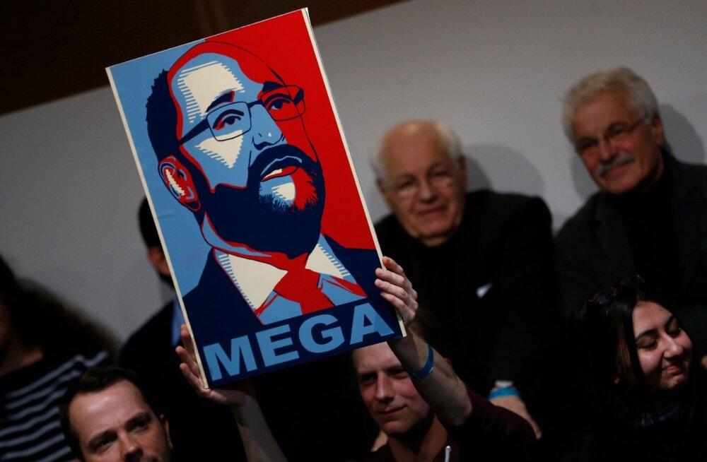 Aeg suuremaks õigluseks – on Martin Schulzi aeg, ütleb sotside uus loosung.